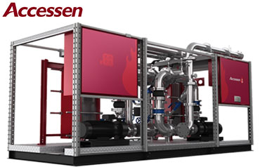 Accessen-The God of fire series standardized heat exchange skid