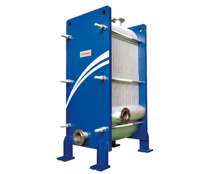 All-Welded Plate and Frame Heat Exchanger