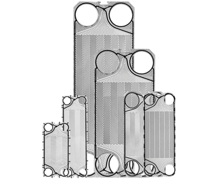 Semi-Welding Plate Heat Exchanger