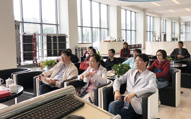 Sinopec's Shanghai Engineering Expert Team Came to Our Company for Exchange and Inspection