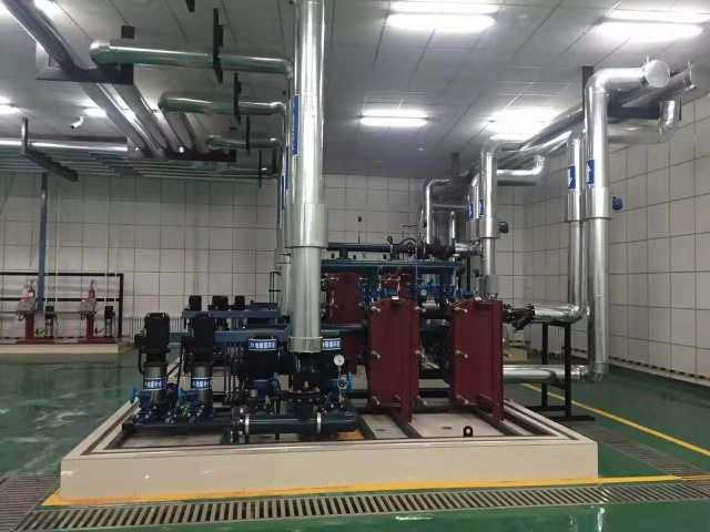 21 Erdos Gymnasium Heat Exchange Station, Erdos City, Inner Mongolia