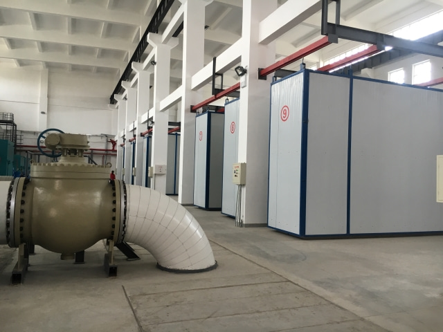 49 Xinjiang Karamay heating system maintenance and renovation project pressure isolation station project 1