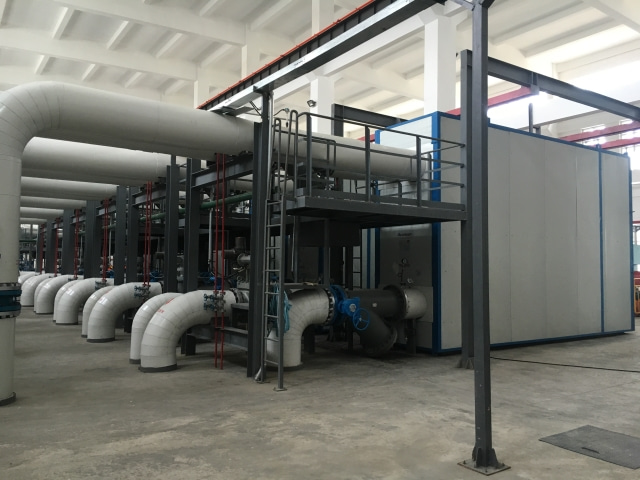 50 Xinjiang Karamay heating system maintenance and renovation project pressure isolation station project 2