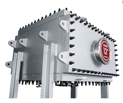 Bloc All-welded Detachable Heat Exchanger